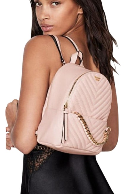 Item - Studded City Quilted Blush Quilt Backpack
