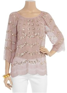 Antik Batik Day To Sequin Top Pink