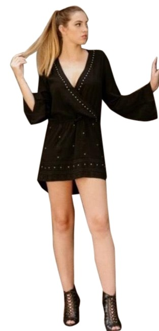 Item - Black Sadie Sage Women Studded High-low Romper/Jumpsuit