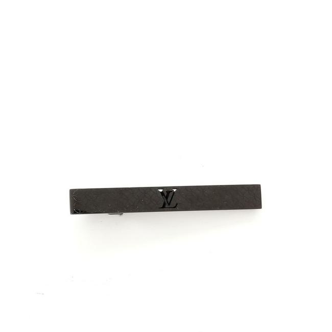 Item - Black Champs Elysees Tie Pin Steel