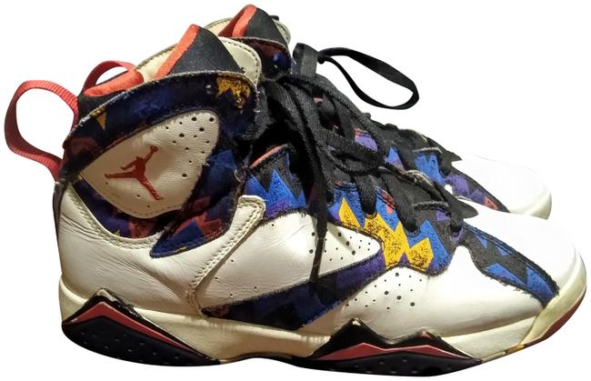 Multicolor Retro 7 Ugly Sweater Nothing But Net Sneakers