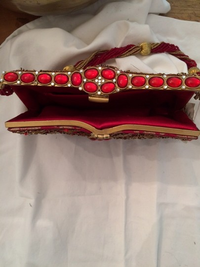 Other Red & Bronze Clutch