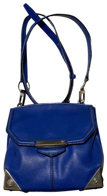 Alexander Wang Marion Electric Blue Leather Cross Body Bag Alexander Wang Marion Electric Blue Leather Cross Body Bag Image 1
