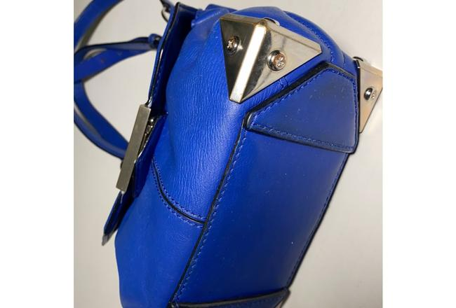 Alexander Wang Marion Electric Blue Leather Cross Body Bag Alexander Wang Marion Electric Blue Leather Cross Body Bag Image 2