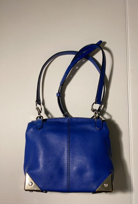 Alexander Wang Marion Electric Blue Leather Cross Body Bag Alexander Wang Marion Electric Blue Leather Cross Body Bag Image 3
