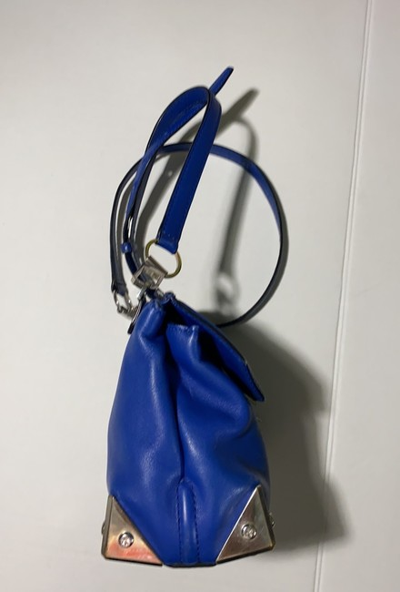 Alexander Wang Marion Electric Blue Leather Cross Body Bag Alexander Wang Marion Electric Blue Leather Cross Body Bag Image 4