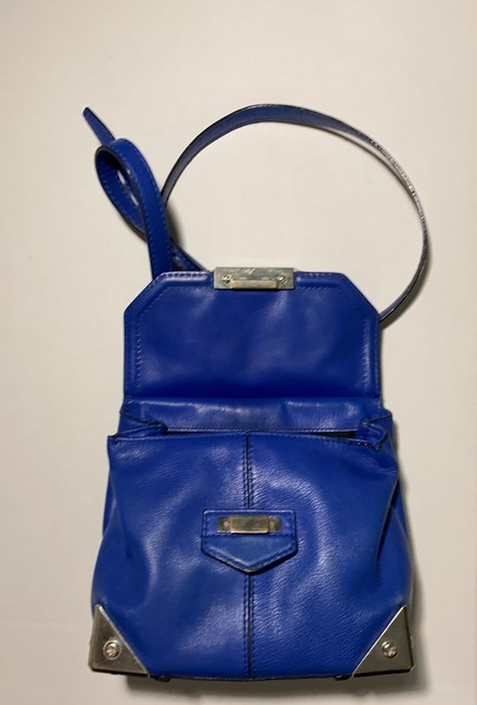 Alexander Wang Marion Electric Blue Leather Cross Body Bag Alexander Wang Marion Electric Blue Leather Cross Body Bag Image 5