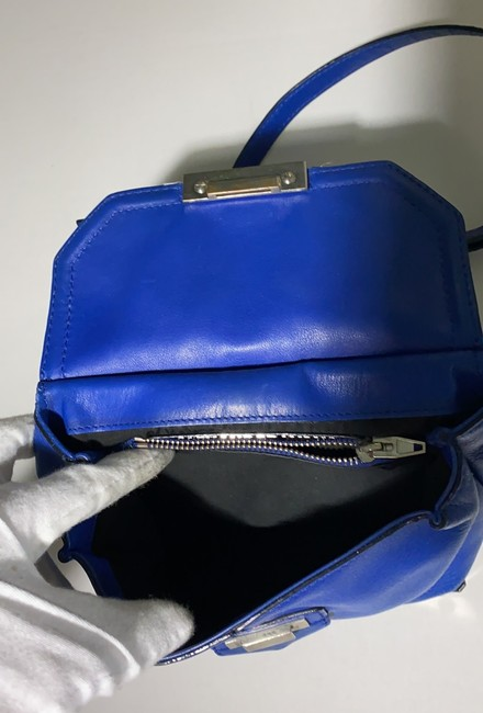 Alexander Wang Marion Electric Blue Leather Cross Body Bag Alexander Wang Marion Electric Blue Leather Cross Body Bag Image 6