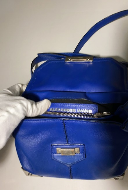 Alexander Wang Marion Electric Blue Leather Cross Body Bag Alexander Wang Marion Electric Blue Leather Cross Body Bag Image 7