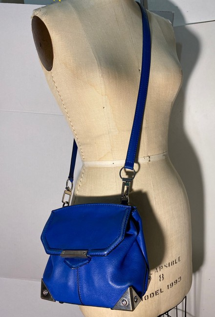 Alexander Wang Marion Electric Blue Leather Cross Body Bag Alexander Wang Marion Electric Blue Leather Cross Body Bag Image 8
