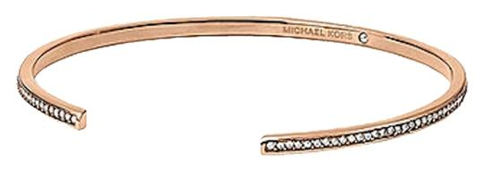 Preload https://item2.tradesy.com/images/michael-kors-rose-golden-new-with-tags-clear-pave-thin-bar-open-cuff-bracelet-2817226-0-0.jpg?width=440&height=440