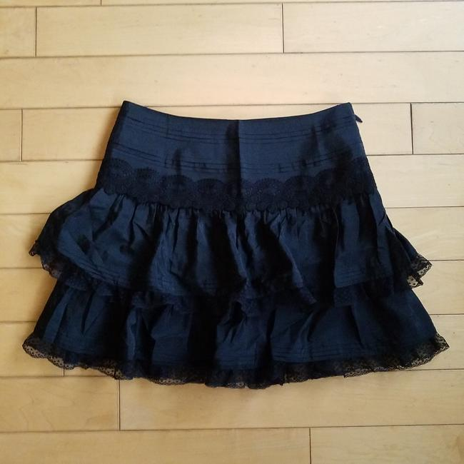 Item - Black Silk with Lace Skirt Size 0 (XS, 25)