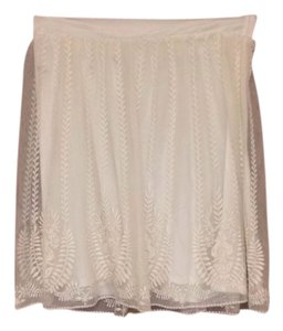 Urban Outfitters Skirt Cream