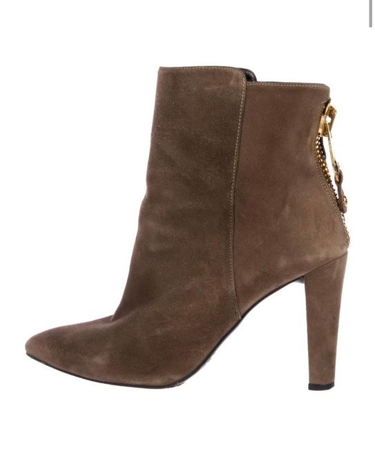 Item - Brown Suede Point Toe Boots/Booties Size US 9 Regular (M, B)