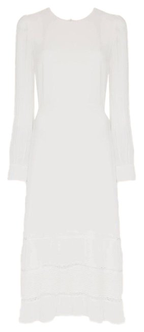 Item - White Valerie Ivory Long Casual Maxi Dress Size 8 (M)