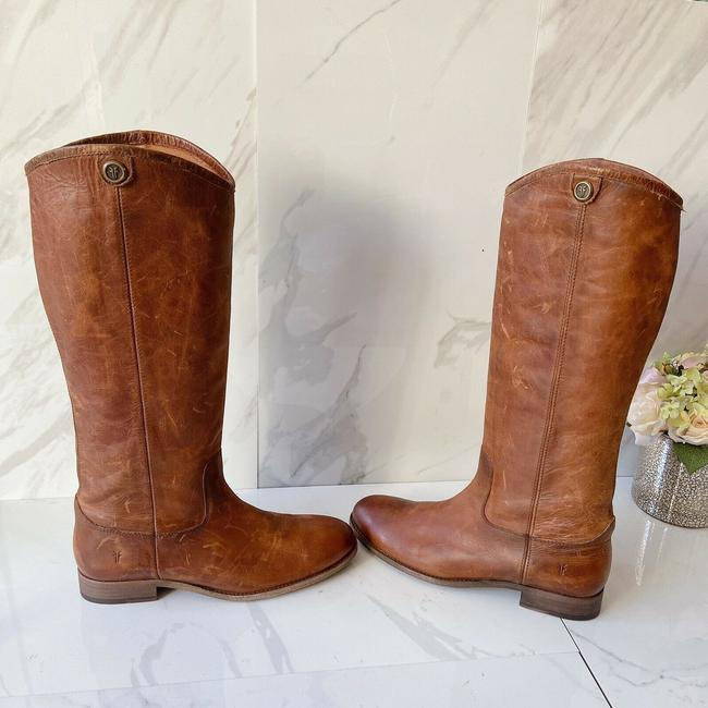 Frye Brown Melissa Button 2 Women's Knee High Pull On Leather Boots/Booties Size US 9.5 Regular (M, B) Frye Brown Melissa Button 2 Women's Knee High Pull On Leather Boots/Booties Size US 9.5 Regular (M, B) Image 3