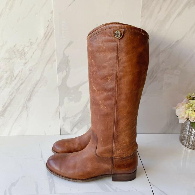Frye Brown Melissa Button 2 Women's Knee High Pull On Leather Boots/Booties Size US 9.5 Regular (M, B) Frye Brown Melissa Button 2 Women's Knee High Pull On Leather Boots/Booties Size US 9.5 Regular (M, B) Image 5