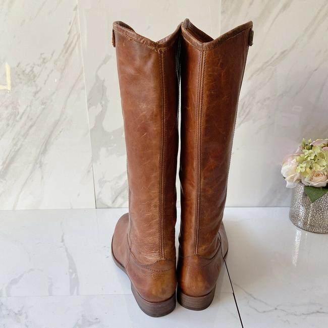 Frye Brown Melissa Button 2 Women's Knee High Pull On Leather Boots/Booties Size US 9.5 Regular (M, B) Frye Brown Melissa Button 2 Women's Knee High Pull On Leather Boots/Booties Size US 9.5 Regular (M, B) Image 6