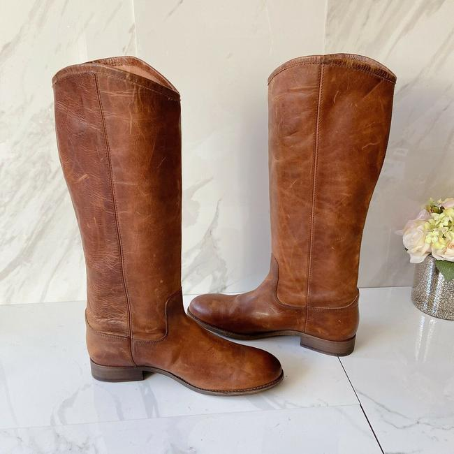 Frye Brown Melissa Button 2 Women's Knee High Pull On Leather Boots/Booties Size US 9.5 Regular (M, B) Frye Brown Melissa Button 2 Women's Knee High Pull On Leather Boots/Booties Size US 9.5 Regular (M, B) Image 7