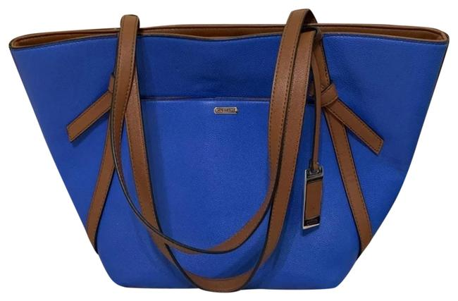 Item - Blue Leather Tote
