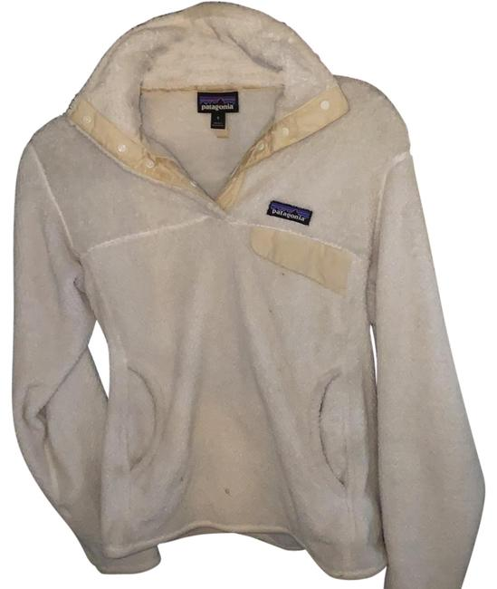 Item - Raw Linen Snap Fleece Pullover Activewear Size 4 (S)