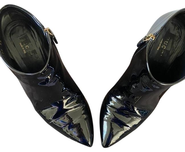 Item - Black Patent Leather Boots/Booties Size EU 35 (Approx. US 5) Regular (M, B)