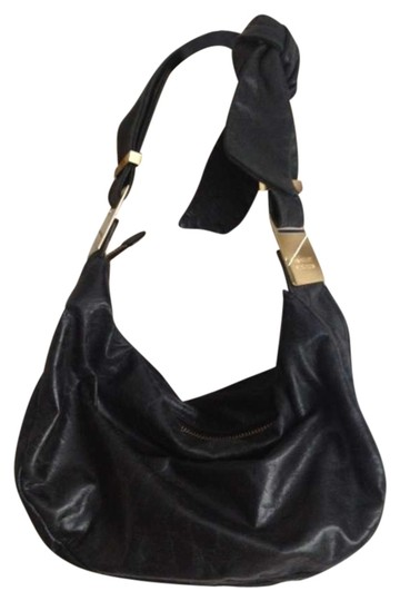 Preload https://item1.tradesy.com/images/badgley-mischka-black-leather-shoulder-bag-281760-0-0.jpg?width=440&height=440