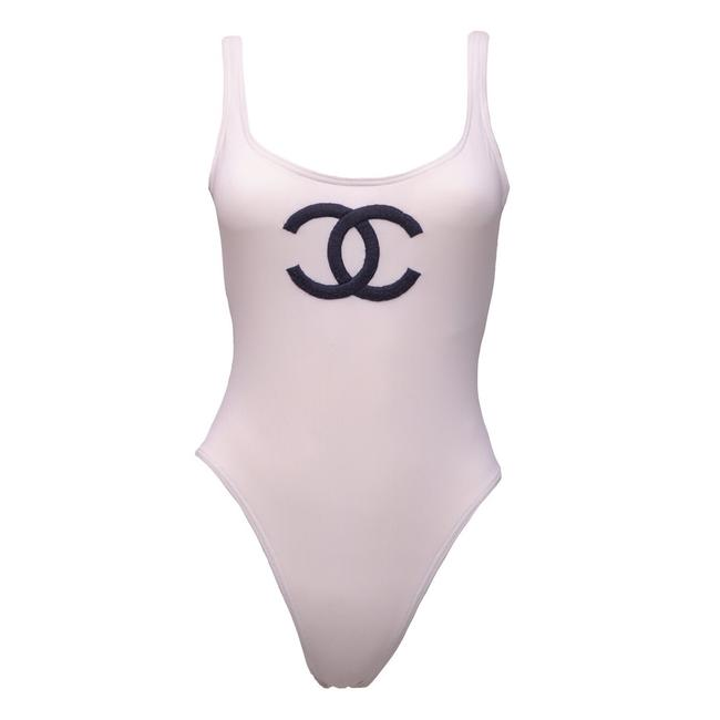 Item - White Swimsuit One-piece Bathing Suit Size 4 (S)