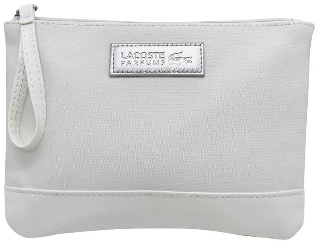 Item - White Clutch Make-up Wallet Cosmetic Bag
