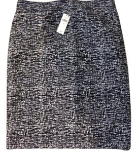 Banana Republic Mini Skirt Blue with white