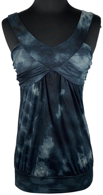Item - Multicolor Juniors S Abstract Patterned Nylon Sleeveless Tank Top/Cami Size 4 (S)
