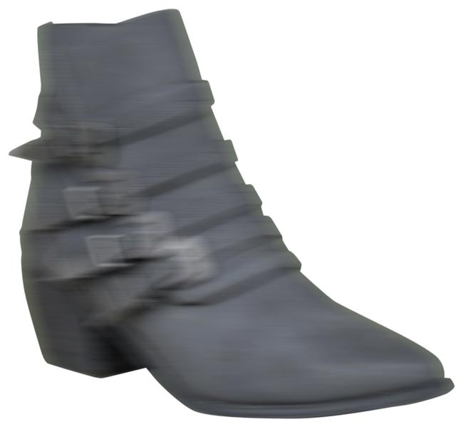 Item - Black The Fayth Western Buckled Boots/Booties Size US 10 Regular (M, B)