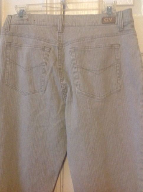 Gloria Vanderbilt Size 10 Stretch Slimming Straight Leg Jeans-Coated