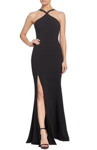 Dress the Population Trumpet Mermaid Halter Dress