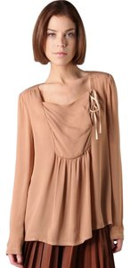 A.L.C. Designer Day To Night Nude Top Tan