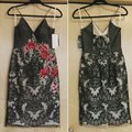 basix black label and Tan Embroidered Sheer Mid-length Formal Dress Size 4 (S) basix black label and Tan Embroidered Sheer Mid-length Formal Dress Size 4 (S) Image 1