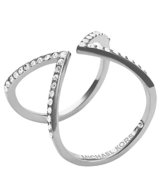Item - Silver Size 8 Collection Open Arrow Mkj37510408 Ring
