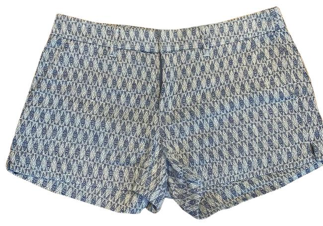 Item - Blue Pattered Shorts Size 4 (S, 27)