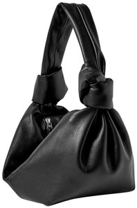 Item - Mini Leather Pouch Hobo Bag