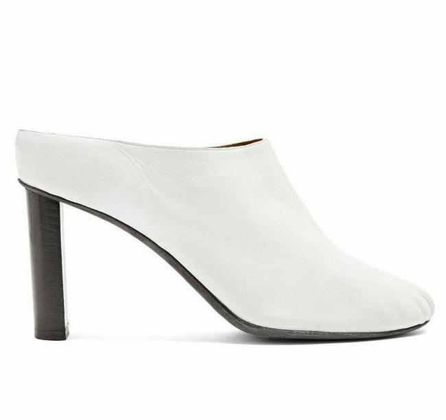 Item - Ivory Box New In Leather Mules/Slides Size US 7.5 Regular (M, B)