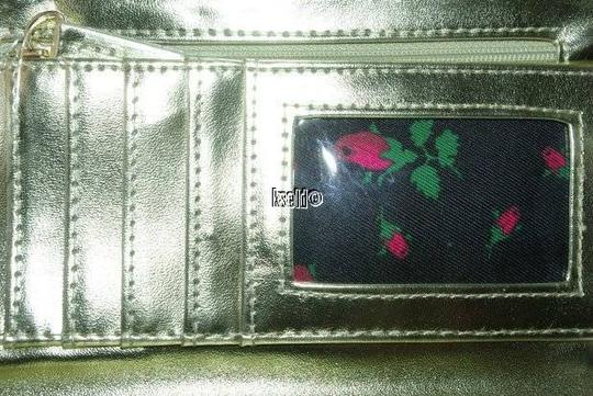 Betsey Johnson Betsey Johnson Quilted Heart Will You Be Mine Flap Clutch Wallet