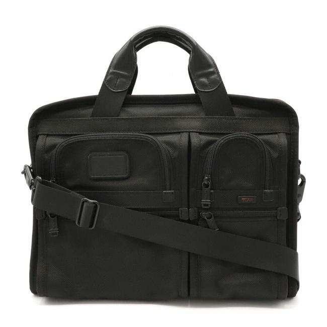 Item - Business 2way Nylon 26107dh Black Leather Messenger Bag