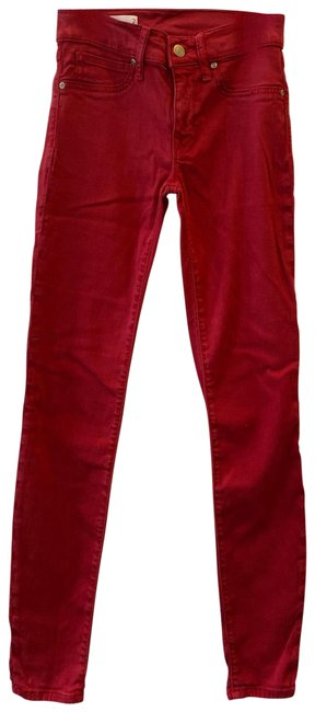 Item - Red Jeggings Size 2 (XS, 26)