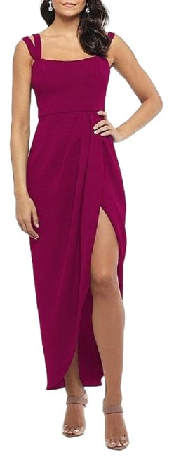 Item - New Magenta Double-strap Gown Long Formal Dress Size 2 (XS)