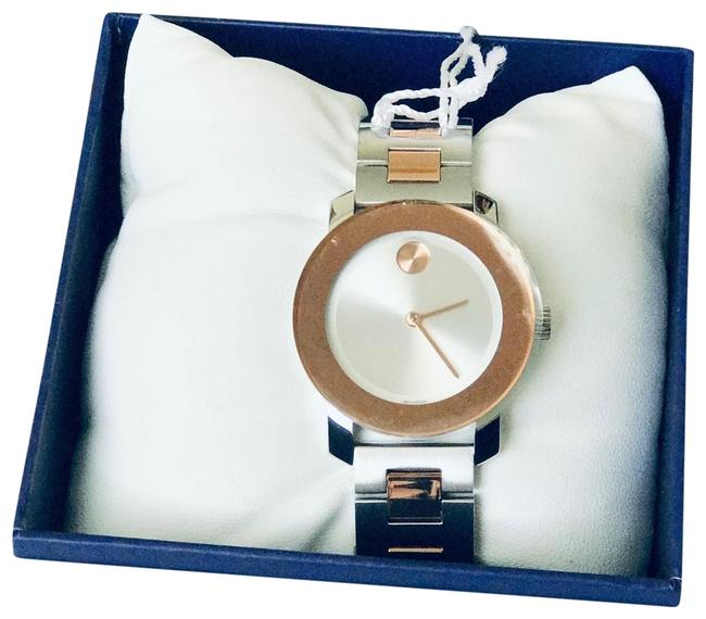 Item - Silver and Rose Gold Watch