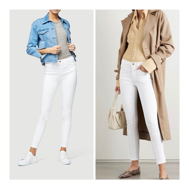 Item - White Light Wash Le High Jeans/Sz:28/Nwt Skinny Jeans Size 6 (S, 28)