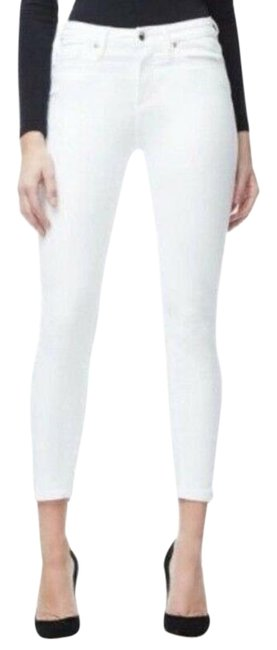 Item - White Light Wash Legs In Capri/Cropped Jeans Size 12 (L, 32, 33)