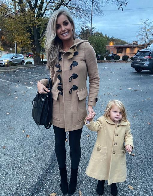 Burberry Brit Tan Wool Finsdale Toggle Hooded Coat Size 2 (XS) Burberry Brit Tan Wool Finsdale Toggle Hooded Coat Size 2 (XS) Image 12
