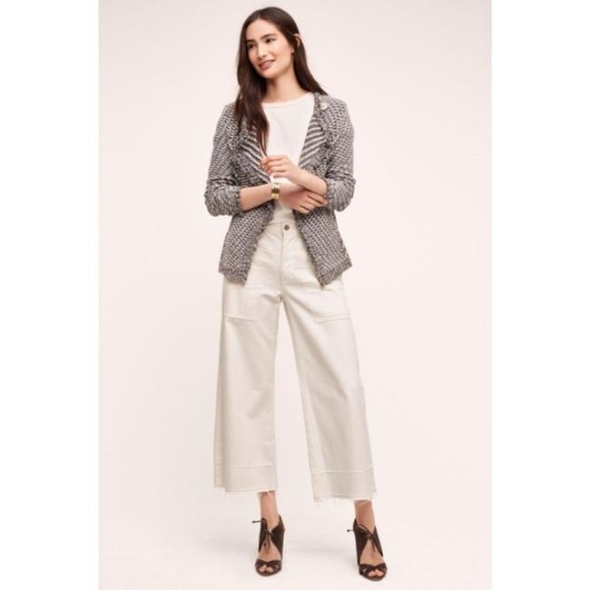 Anthropologie Gray White Angel Of The North Tipperary Blazer Size 0 (XS) Anthropologie Gray White Angel Of The North Tipperary Blazer Size 0 (XS) Image 2