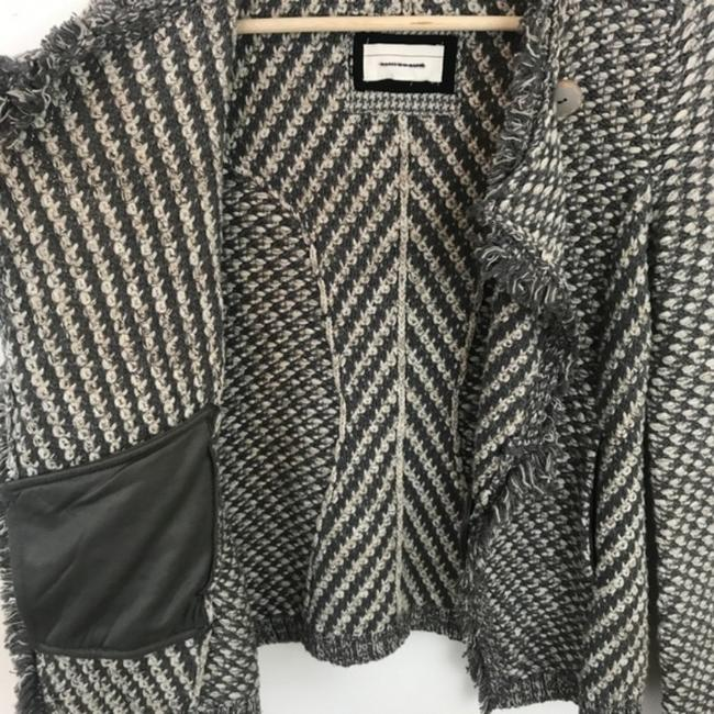 Anthropologie Gray White Angel Of The North Tipperary Blazer Size 0 (XS) Anthropologie Gray White Angel Of The North Tipperary Blazer Size 0 (XS) Image 6